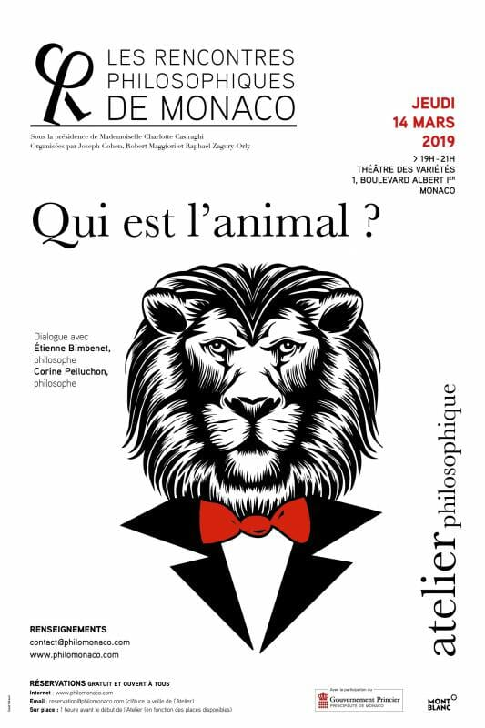 "Lecture: ""Who's the animal?"""
