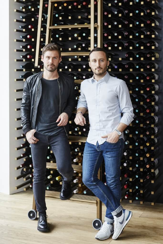 interior designers Emil Humbert and Christopher Poyet
