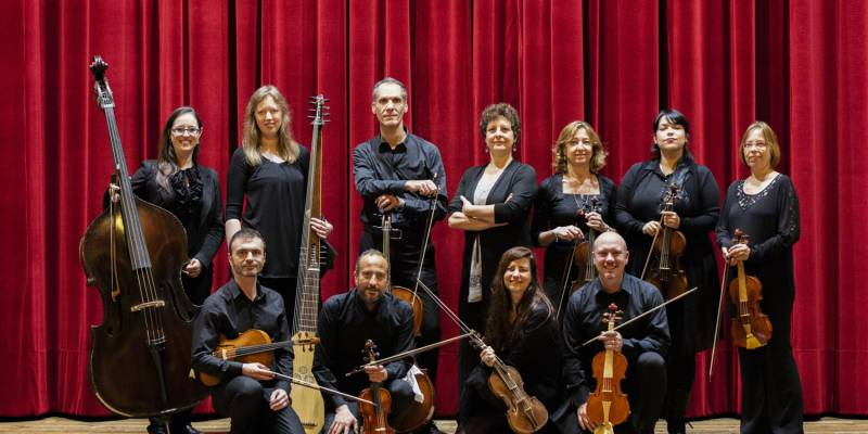 """Manfredini Returns to Monaco"" by the Baroque Orchestra of Rome ""Furiosi affeti"""