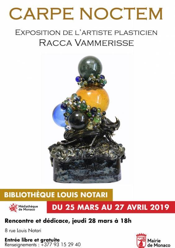 """Carpe Noctem"", an exhibition by the artist Racca Vammerisse"