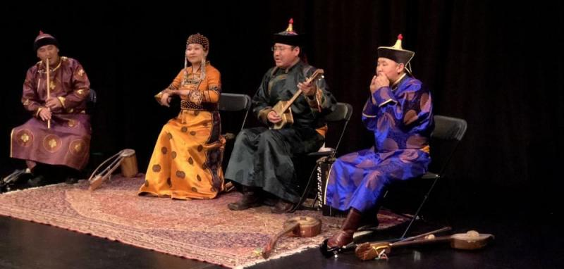 Monte-Carlo Spring Arts Festival: closing concert by the Chirgilchin Ensemble