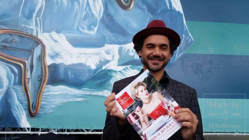 Photo of Eduardo Kobra undertakes the Monegasque eco-commitment with his Street Art from Brazil