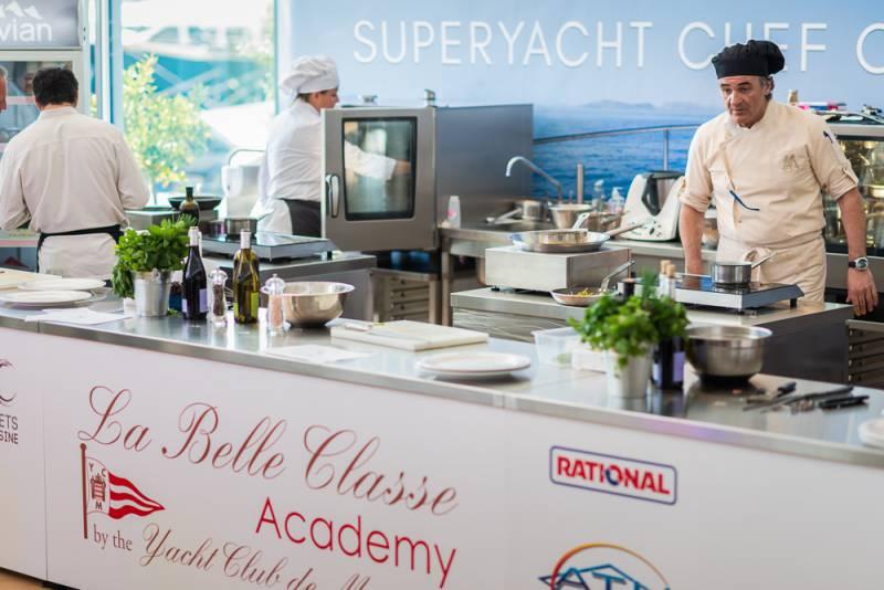 Superyacht Chefs competition at the Yacht Club de Monaco