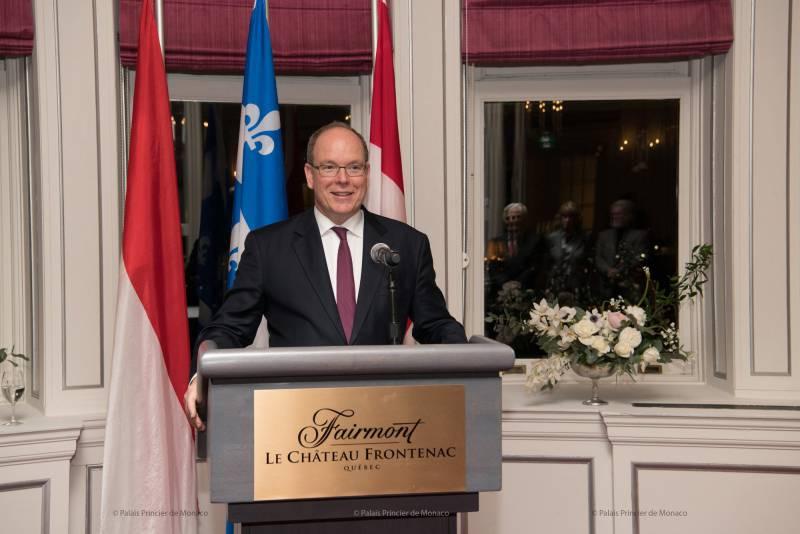 Prince Albert visits Canada