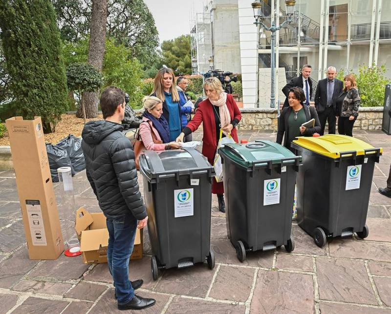 Recycling and Life Just Got Simpler in Monaco: Yellow and Green Only