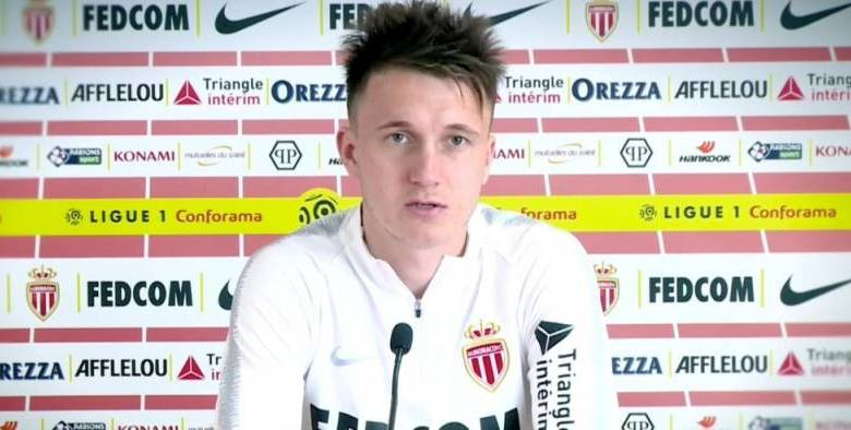 Photo of Interview: Aleksandr Golovin, halfback for the Monaco football club