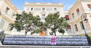 Street Art in Monaco Celebrates Women's Day