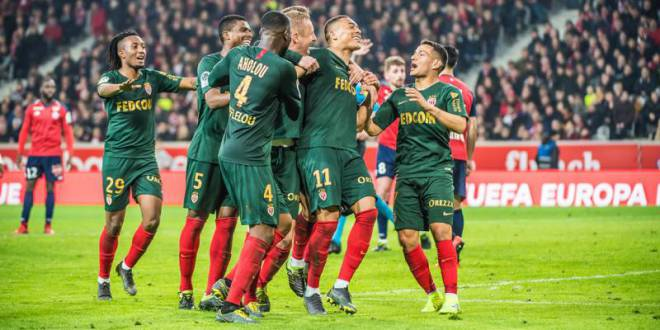 AS Monaco snatched a big win in Lille 0-1