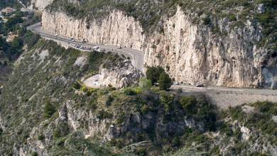 Photo of Landslide on Moyenne Corniche Diverts Heavy Traffic into Monaco for Weeks