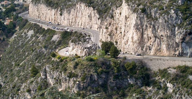 Landslide on Moyenne Corniche Diverts Heavy Traffic into Monaco for Weeks