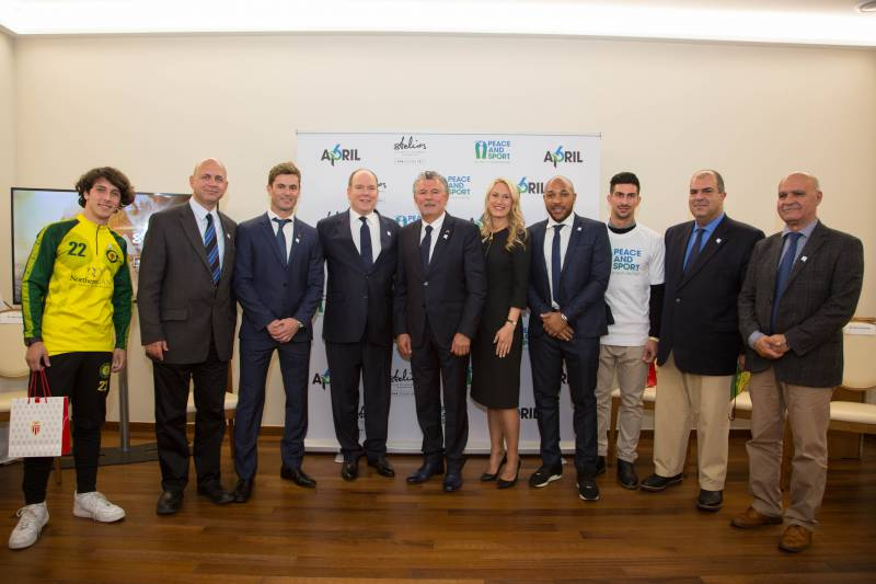 Photo of Stelios Philanthropic Foundation joined up with Peace and Sport and other Monaco news