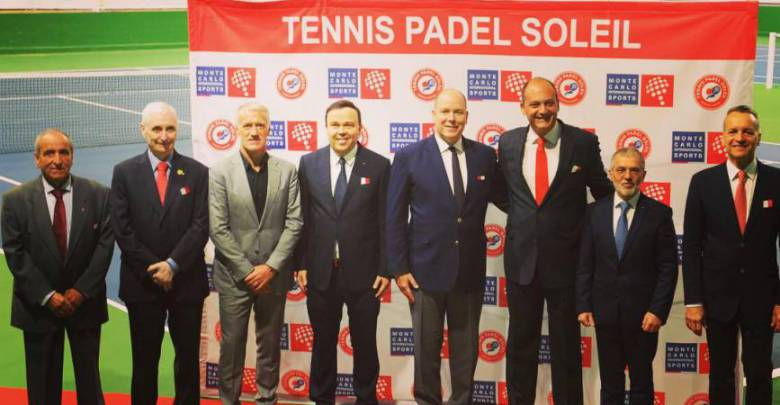 Prince Albert Inaugurates Pro Tennis Courts in Beausoleil