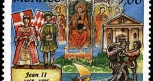 Jean II stamp