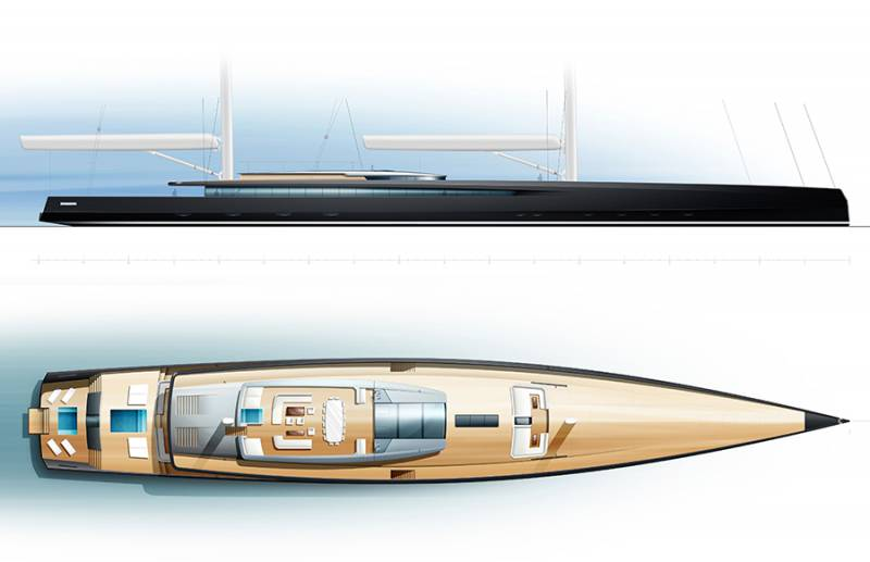 Photo of Philippe Briand presents 90-meter sailing megayacht concept and other yacht news