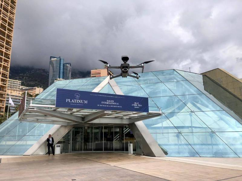 Photo of International Security Innovations Exhibited in Monaco