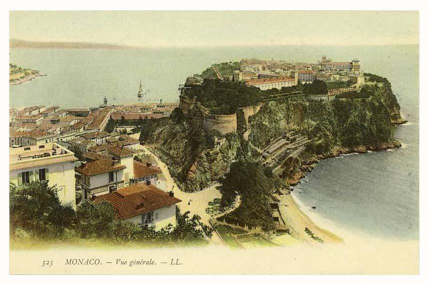 General view of Monaco