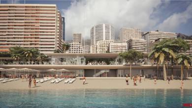 Photo of The Monegasque Government unveiled the future environmentally friendly face of Larvotto Beach