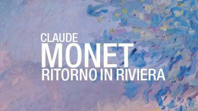 "Photo of The Monet Expo ""Back on the Riviera"", in Dolceaqua, Exhibits Prince Albert's ""Monte Carlo seen from Roquebrune"""