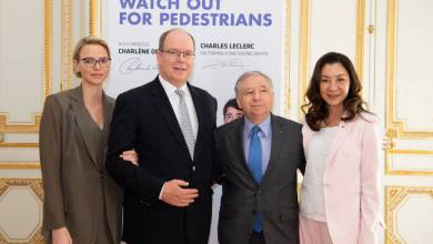 Photo of Prince Albert and Princess Charlene received Mr. Jean Todt and other princely
