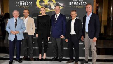 """Photo of Preview with Prince Albert of the documentary """"Monaco Grand Prix, The Legend"""""""