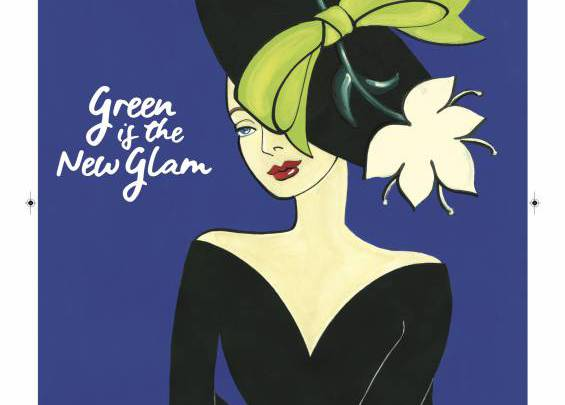 Green is the New Glam Poster