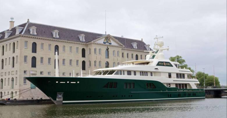 Sea Owl: Robert Mercer's iconic green-hulled yacht