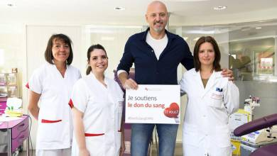 Photo of AS Monaco Basket Supports Blood Donation
