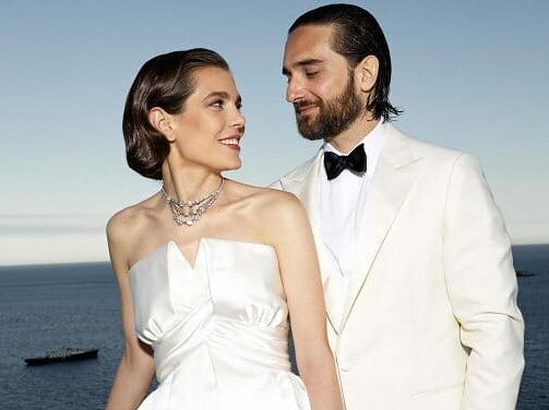 Charlotte Casiraghi and Dimitri Rassam's Wedding at Monaco's Palace