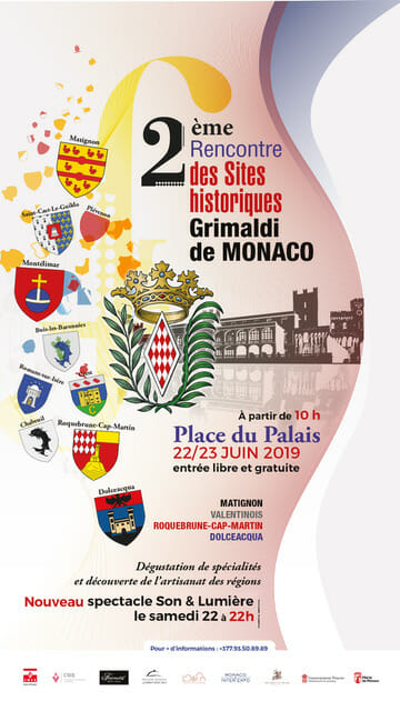 2nd Meeting of Grimaldi Historic Sites of Monaco