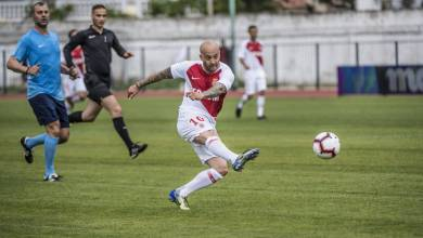 """Photo of AS Monaco Legends"""" triumph in charity gala match over champions"""