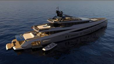 Photo of 55m aluminium superyacht concept Soana introduced by Rodriguez Design and other yacht news
