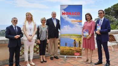 Photo of Presentation of the First Monaco History Workbook