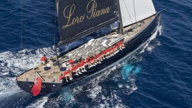 Photo of Lost in the seas: 40m Baltic sailing superyacht My Song falls from cargo ship and other yacht news
