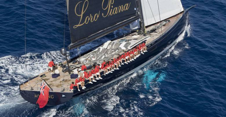 Lost in the seas- 40m Baltic sailing superyacht My Song falls from cargo ship