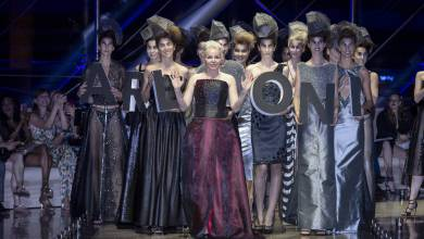 Photo of Arleoni Fashion Show in Monaco: BLACK DIAMOND Collection of Unique Pieces