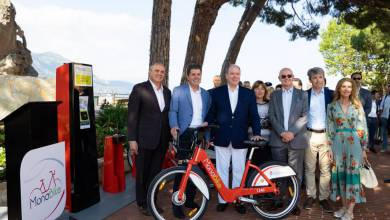 Photo of H.S.H. Prince Albert II officially launched MonaBike and other princely news