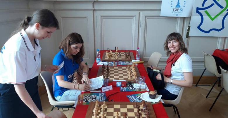Monte Carlo's Women are Newly Crowned Chess Club Champions of France