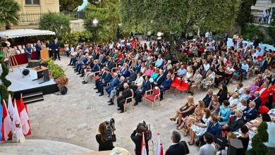 Photo of Prince Albert and Mayor Georges Marsan Honour 76 Students – Winners of the Monegasque Language Competition and other Monaco news