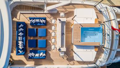 Photo of To spy or not to spy: utilities aboard a €65 million James-Bond-inspired superyacht and other yacht news