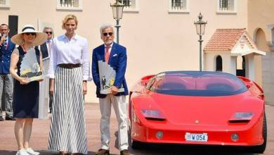 Photo of Princess Charlene presented Elegance and Automobile Monte-Carlo 2019 awards and other princely news
