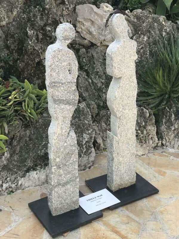 When Sculptures Bloom