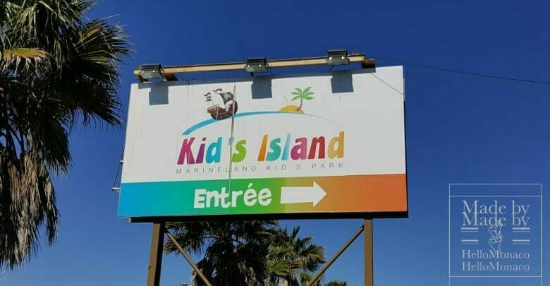 Kids Island in Antibes