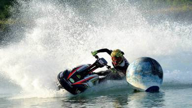 Photo of A Monaco Potential Violinist Takes On the Women of the World on her Jet-Ski