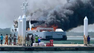 Photo of 56m superyacht Lady D caught fire in Phuket and other yacht news