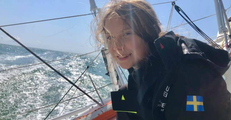 Malizia II with Pierre Casiraghi sail across the Atlantic with Greta Thunberg to Save the Planet