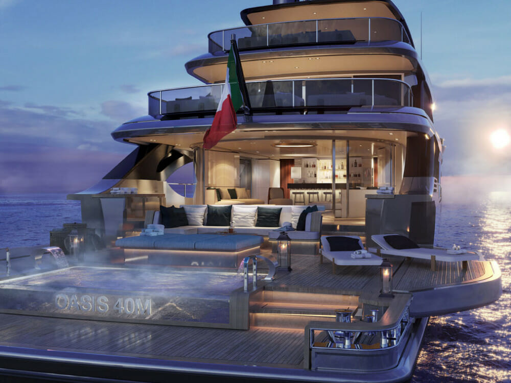 Benetti sells first 40m superyacht Oasis to US powerboat champion and other  yacht news