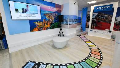 Photo of New CÔTE d'AZUR FRANCE and VISIT MONACO welcome space opened at Nice Airport