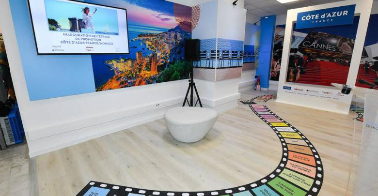 New CÔTE d'AZUR FRANCE and VISIT MONACO welcome space opened at Nice Airport