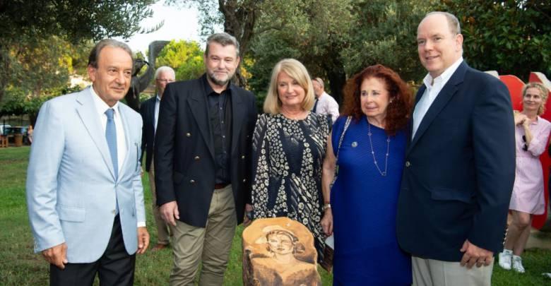 Prince Albert attends Princess Grace Exhibition in Roquebrune