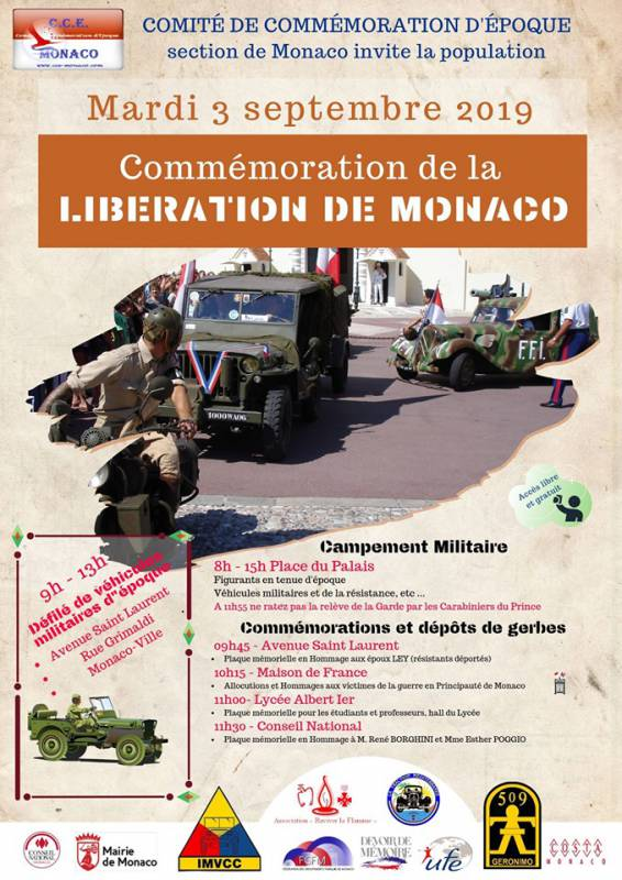 75th Anniversary of the Liberation of Monaco
